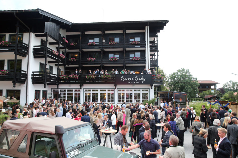 ROTTACH-EGERN, GERMANY - JUNE 22: A general view during the 'Bussi Baby' by Bachmair Weissach hotel & bar opening event on June 22, 2018 in Bad Wiessee near Rottach-Egern, Germany. (Photo by Gisela Schober/Getty Images)
