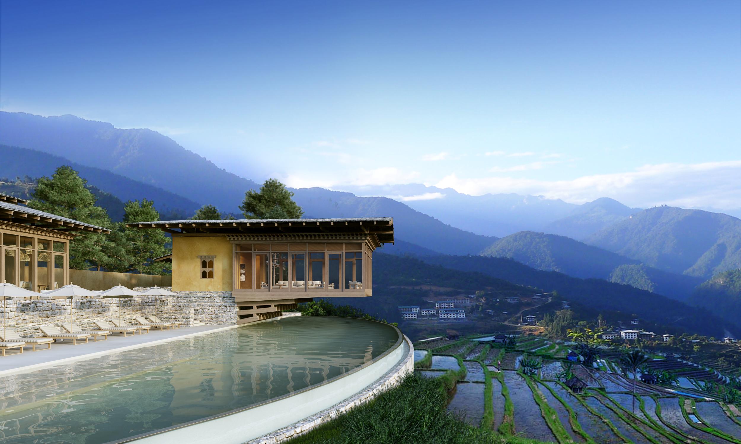 Mit allen Sinnen in Bhutan Six Senses eröffnet die ersten Lodges im Land des Donnerdrachen