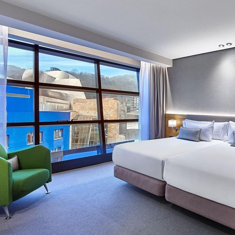 Gran-Hotel-Domine-Deluxe-Room-Guggenheim-View