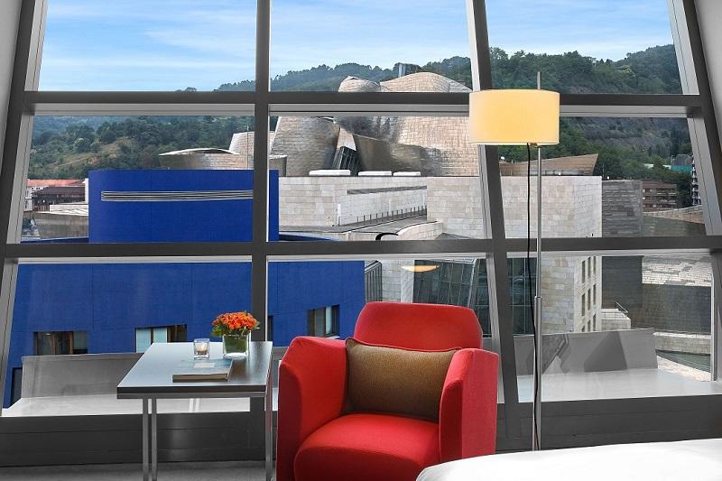 Gran-Hotel-Domine-Premier-Room-Guggenheim-View