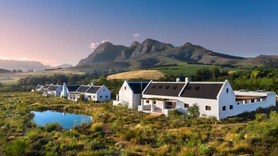 Die Privatsphäre wohnt im Gebüsch Bei Babylonstoren geht das Fynbos Family House auf